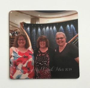 my sweet gift from Lisa Marie--Greek Isles Cruise 2019