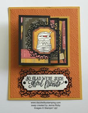 Spooktacular Bash bundle, swap created by Jenna Roby, www.dazzledbystamping.com