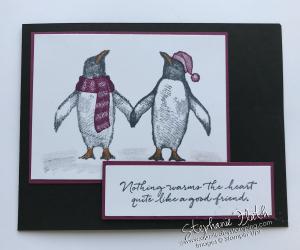 Playful Penguins, www.dazzledbystamping,com