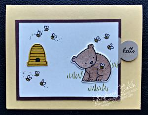 A Little Wild & Little Loves Framelits, www.dazzledbystamping.com