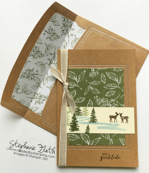 Magnolia Lane Cards & Envelopes, Snow Front, www.dazzledbystamping.com