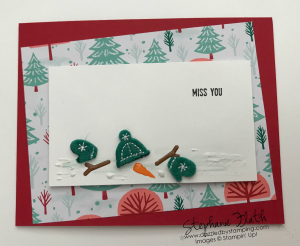 Let It Snow Embellishment Kit & DSP, www.dazzledbystamping.com