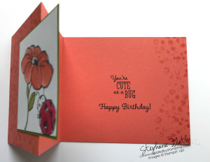 Little Ladybug, www.dazzledbystamping.com