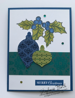 Christmas Gleaming Bundle, Noble Peacock DSP, www.dazzledbystamping.com