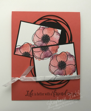 Painted Poppies bundle, www.dazzledbystamping.com