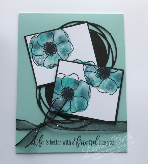 Painted Poppies bundle, Peaceful Moments, www.dazzledbystamping.com