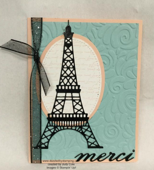 Parisian Beauty bundle, created by Judy Cole, www.dazzledbystamping.com