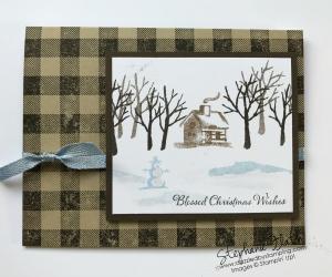 Snow Front, Buffalo Check, Itty Bitty Christmas, www.dazzledbystamping.com