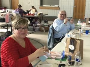 Winter 1-Day Crafting Retreat: Karla & Cindy