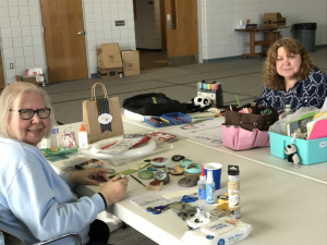 Winter 1-Day Crafting Retreat: Cindy & Mary