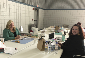 Winter 1-Day Crafting Retreat: Jody & Courtney