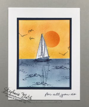 Sailing Home, www.dazzledbystamping.com