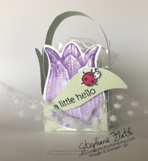Timeless Tulips bundle, Little Ladybug (SAB), www.dazzledbystamping.com