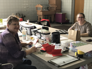 Winter 1-Day Crafting Retreat: Nadine & her daughter, Sarah