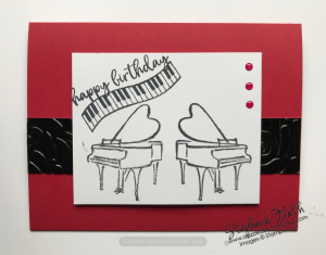 Music from the Heart, www.dazzledbystamping.com