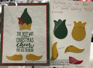 Christmas Means More, Tulip Builder punch, created by Jamie Sales, www.dazzledbystamping.com