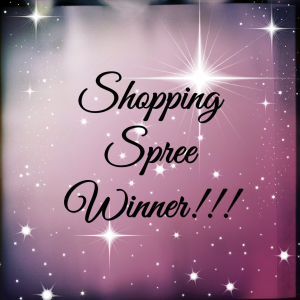 Shopping Spree Winner