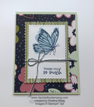 Touch of Ink, Paper Blooms DSP (SAB), created by Kristina Rees, www.dazzledbystamping.com