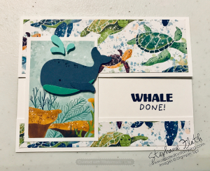 Whale Done bundle, Whale of a Time DSP, www.dazzledbystamping.com