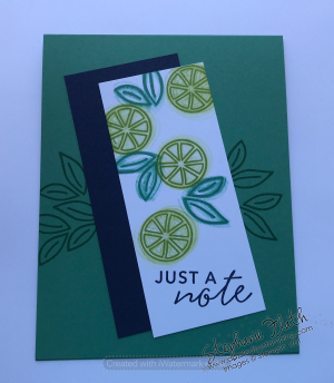 Simply Citrus Card Kit (alternative), www.dazzledbystamping.com