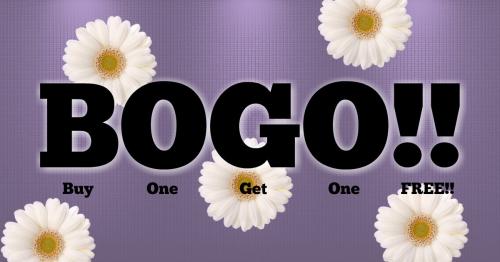 BOGO Event pic