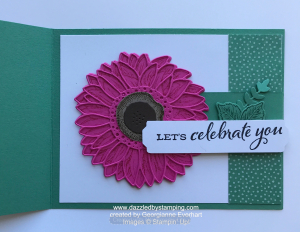 Flowers for Every Season Suite (Celebrate Sunflowers bundle), swap created by Georgianne Everhart, www.dazzledbystamping.com