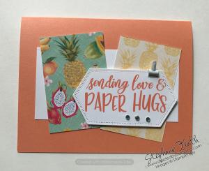 Share Sunshine Digital Download, Tropical Oasis DSP, www.dazzledbystamping.com