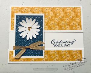 Flowers for Every Season DSP, www.dazzledbystamping.com