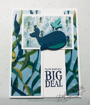 Whale Done bundle, www.dazzledbystamping.com