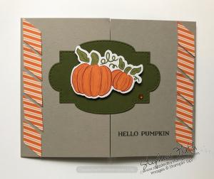 Hello Pumpkin Alternate, www.dazzledbystamping.com