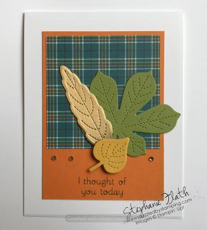 Love of Leaves bundle, www.dazzledbystamping.com