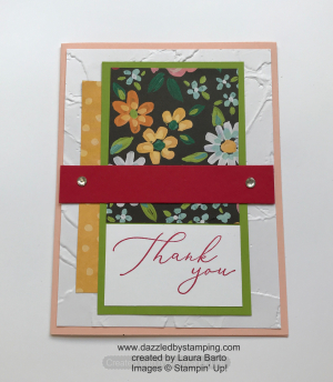 Heal Your Heart, Flower & Field DSP (SAB), created by Laura Barto, www.dazzledbystamping.com