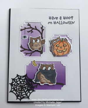 Have a Hoot, swap by Michelle Jager, www.dazzledbystamping.com