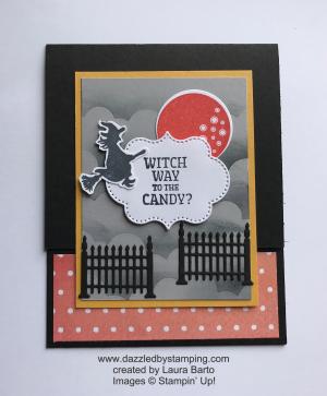 Frightfully Cute bundle, created by Laura Barto, www.dazzledbystamping.com